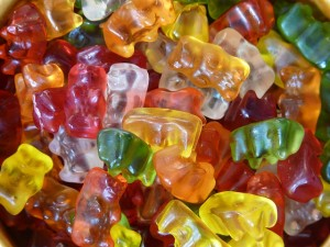 https://pixabay.com/en/gummi-bears-fruit-gums-bear-8464/